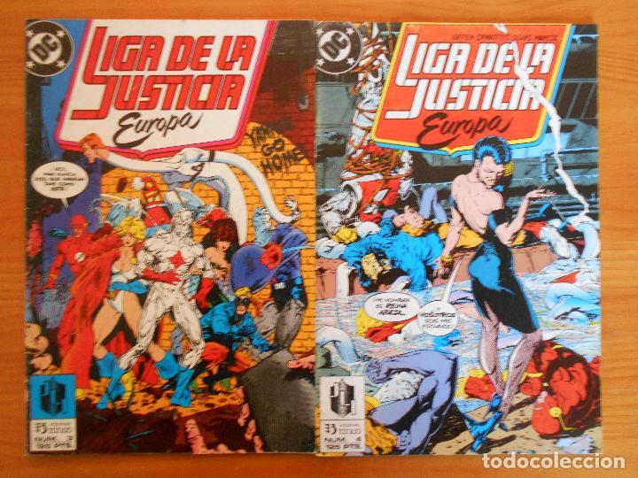 Cómics: LIGA DE LA JUSTICIA EUROPA Nº 1, 2, 3, 4, 5 Y 6 - DC - ZINCO (6Ñ) - Foto 3 - 235034890