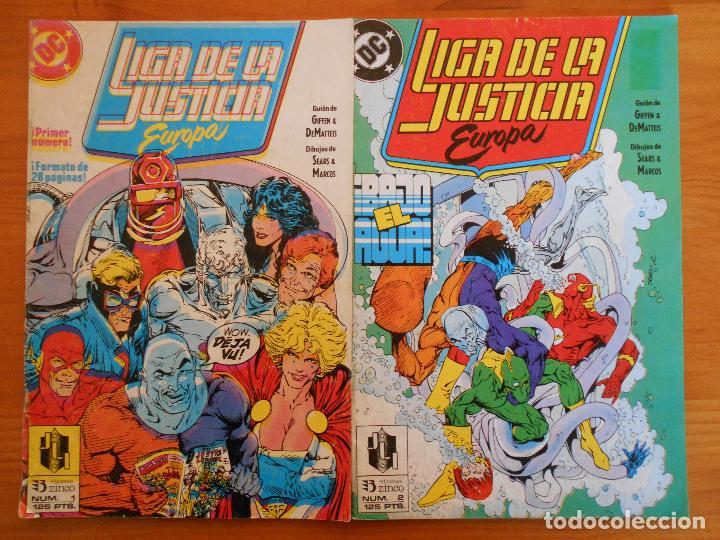 Cómics: LIGA DE LA JUSTICIA EUROPA Nº 1, 2, 3, 4, 5 Y 6 - DC - ZINCO (6Ñ) - Foto 4 - 235034890