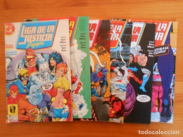 LIGA DE LA JUSTICIA EUROPA Nº 1, 2, 3, 4, 5 Y 6 - DC - ZINCO (6Ñ) (Tebeos y Comics - Zinco - Liga de la Justicia)