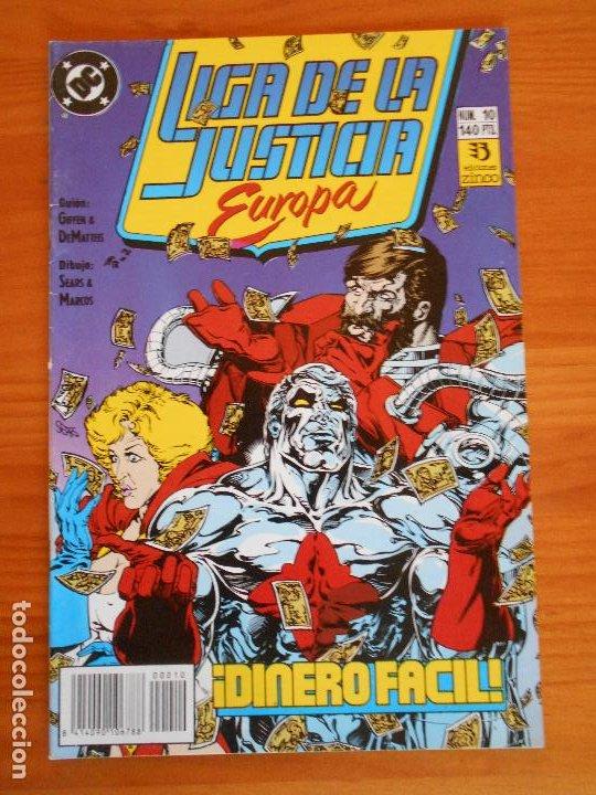 LIGA DE LA JUSTICIA EUROPA Nº 10 - DC - ZINCO (6Ñ) (Tebeos y Comics - Zinco - Liga de la Justicia)