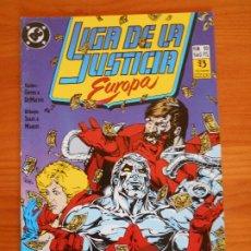 Cómics: LIGA DE LA JUSTICIA EUROPA Nº 10 - DC - ZINCO (6Ñ). Lote 235035400