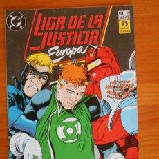 Cómics: LIGA DE LA JUSTICIA EUROPA Nº 11 - DC - ZINCO (6Ñ). Lote 235035630
