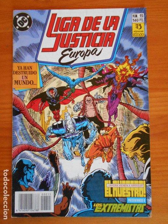 LIGA DE LA JUSTICIA EUROPA Nº 15 - DC - ZINCO (6Ñ) (Tebeos y Comics - Zinco - Liga de la Justicia)