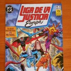 Cómics: LIGA DE LA JUSTICIA EUROPA Nº 15 - DC - ZINCO (6Ñ). Lote 235035830