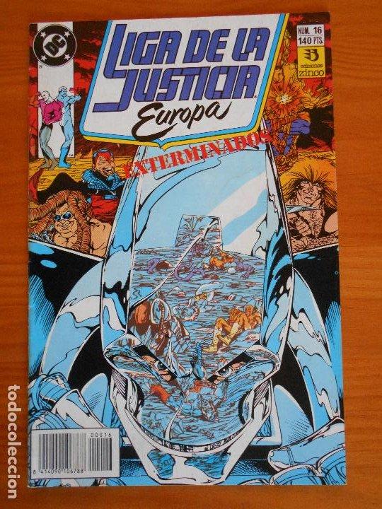 LIGA DE LA JUSTICIA EUROPA Nº 16 - DC - ZINCO (6Ñ) (Tebeos y Comics - Zinco - Liga de la Justicia)