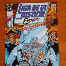 Cómics: LIGA DE LA JUSTICIA EUROPA Nº 16 - DC - ZINCO (6Ñ). Lote 235036035