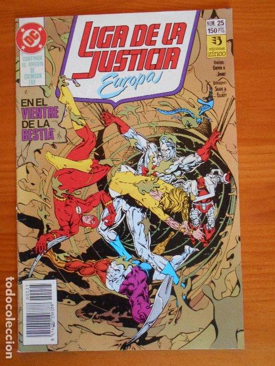LIGA DE LA JUSTICIA EUROPA Nº 25 - DC - ZINCO (6Ñ) (Tebeos y Comics - Zinco - Liga de la Justicia)