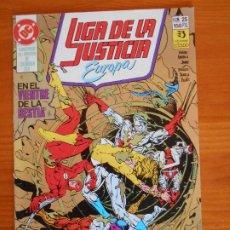 Cómics: LIGA DE LA JUSTICIA EUROPA Nº 25 - DC - ZINCO (6Ñ). Lote 235036760