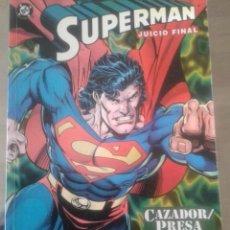 Cómics: COMIC DE SUPERMAN TITULADO 'JUICIO FINAL' DE D.C. Y EDICIONES ZINCO. Lote 235043155