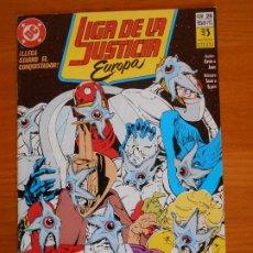 Cómics: LIGA DE LA JUSTICIA EUROPA Nº 26 - DC - ZINCO (6Ñ). Lote 235043305