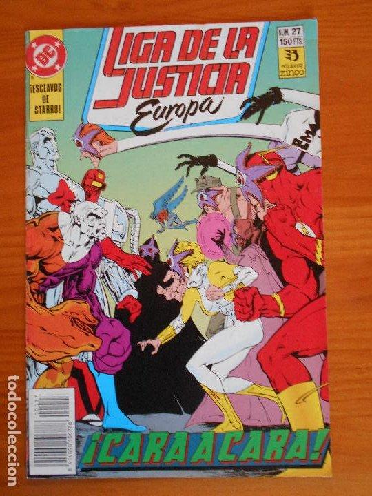 LIGA DE LA JUSTICIA EUROPA Nº 27 - DC - ZINCO (6Ñ) (Tebeos y Comics - Zinco - Liga de la Justicia)