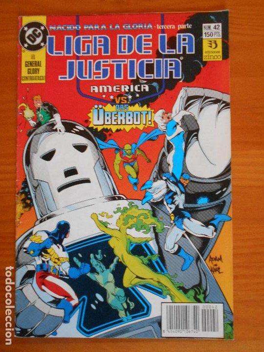 LIGA DE LA JUSTICIA AMERICA Nº 42 - DC - ZINCO (6Ñ) (Tebeos y Comics - Zinco - Liga de la Justicia)