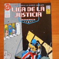 Cómics: LIGA DE LA JUSTICIA AMERICA Nº 43 - DC - ZINCO (6Ñ). Lote 235044430