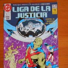 Comics: LIGA DE LA JUSTICIA AMERICA Nº 44 - DC - ZINCO (6Ñ). Lote 235044640