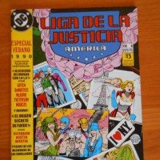 Cómics: LIGA DE LA JUSTICIA AMERICA - ESPECIAL VERANO Nº 4 - 1990 - DC - ZINCO (6Ñ). Lote 235046530