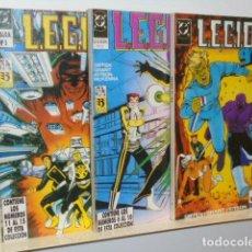 Cómics: LEGION 91 / 92 - COMPLETA 15 NUM. EN TRES TOMOS RETAPADOS - ZINCO OCASION. Lote 235139650