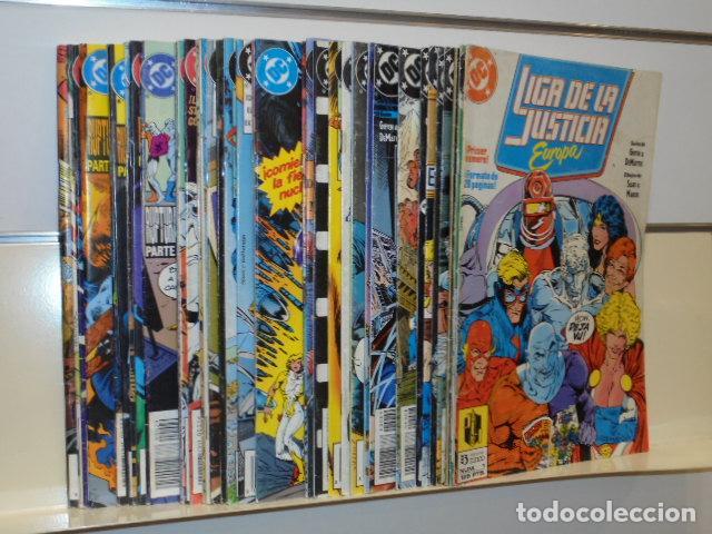 LIGA DE LA JUSTICIA EUROPA COMPLETA 36 NUM. + ESPECIAL - ZINCO OCASION (Tebeos y Comics - Zinco - Liga de la Justicia)