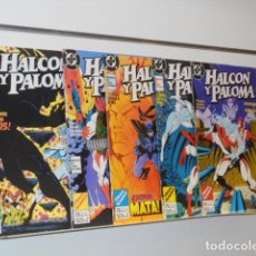 Cómics: HALCON Y PALOMA MINISERIE COMPLETA 5 NUMEROS - ZINCO OCASION. Lote 235151480