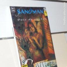 Cómics: SANDMAN PAIS DE SUEÑOS CONTIENE LOS Nº 10-11-12-13 Y 14 DE LA COLECCION NEIL GAIMAN - ZINCO OCASION. Lote 235160990