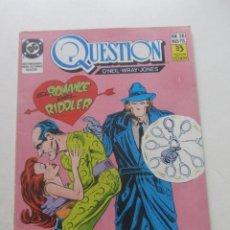 Comics: QUESTION Nº 26 ED ZINCO MUCHOS EN VENTA PIDE FALTAS ARX2. Lote 235259505