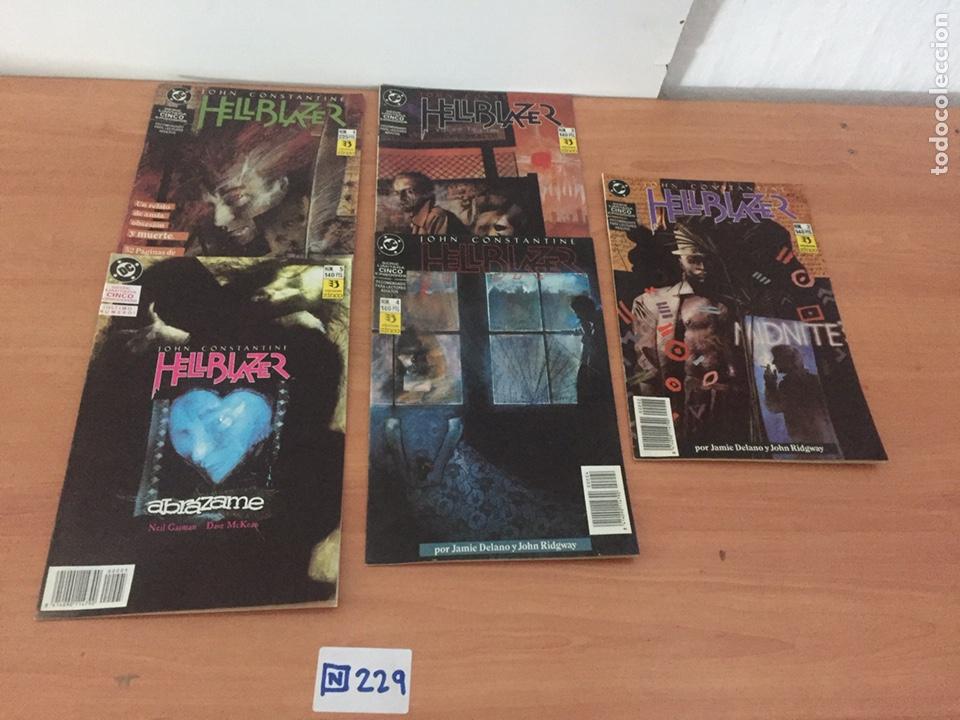 HELLBLAZER COMPLETA SERIE LIMITADA DE 5 DE JAMIE DELANO ZINCO (Tebeos y Comics - Zinco - Otros)
