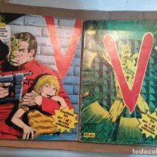 Cómics: V VISITANTES NºS 2 3 4 5 6 7 8 Y 9 EN DOS RETAPADOS. Lote 235264365