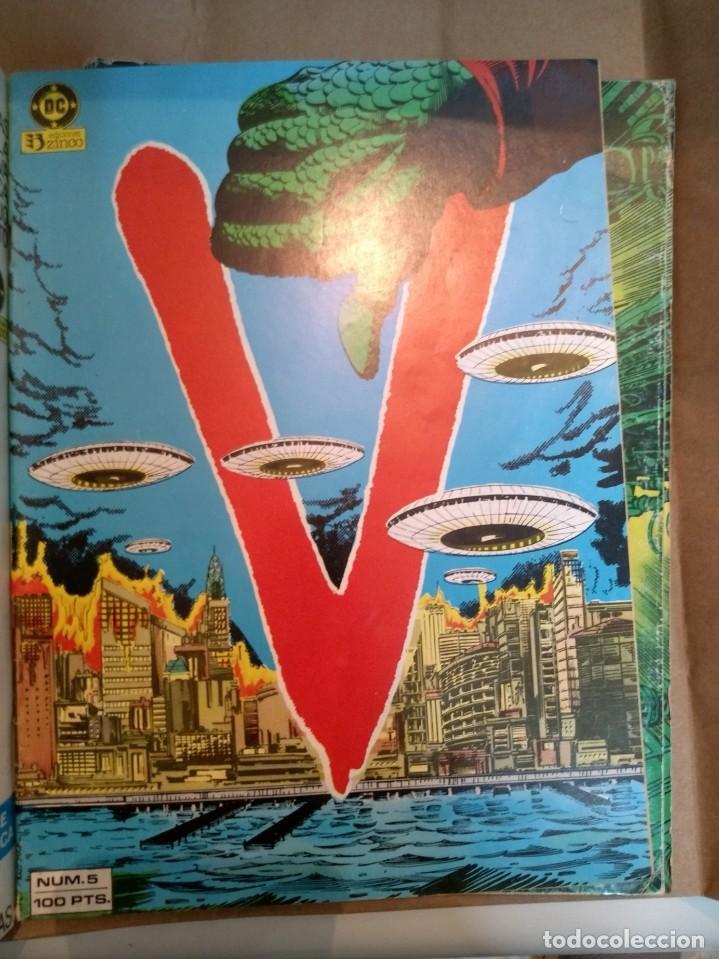 Cómics: V Visitantes nºs 2 3 4 5 6 7 8 y 9 en dos retapados - Foto 8 - 235264365
