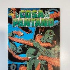 Cómics: LA COSA DEL PANTANO. Nº 6 - ABORDO DE LA NAVE HAVEN. DC. EDICIONES ZINCO. 1985. Lote 235278165