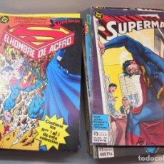 Cómics: GRAN LOTE DE SUPERMAN DEL 1 AL 121 FALTANDO LOS Nº 28-29-43-86-87-90-101-107-108-113-120. Lote 235324435