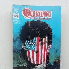 Cómics: QUESTION. Lote 235366340