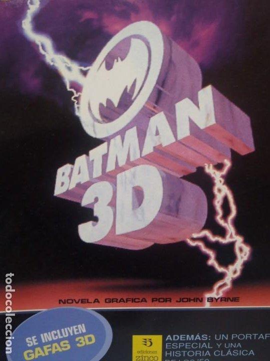 BATMAN - 3D - EDICIONES ZINCO - 1991 - COMIC EN 3D CON GAFAS INCLUIDAS (Tebeos y Comics - Zinco - Batman)