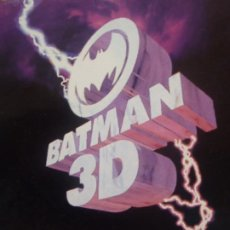 Cómics: BATMAN - 3D - EDICIONES ZINCO - 1991 - COMIC EN 3D CON GAFAS INCLUIDAS. Lote 235388880