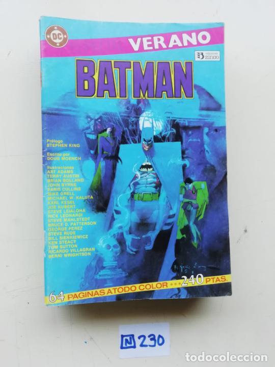 BATMAN (Tebeos y Comics - Zinco - Batman)
