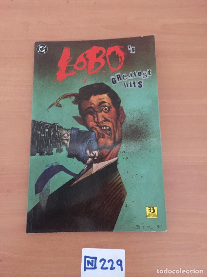 LOBO: LOBO'S GREATEST HITS (DC, ZINCO) LOBO CONTRA SUPERMAN, ETC (COMO NUEVO (Tebeos y Comics - Zinco - Lobo)