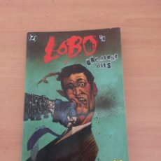 Cómics: LOBO: LOBO'S GREATEST HITS (DC, ZINCO) LOBO CONTRA SUPERMAN, ETC (COMO NUEVO. Lote 235503175