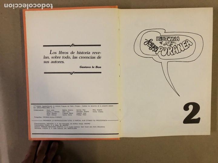 Cómics: HISTORIA FORGESPORÁNEA. FORGES. 3 TOMOS. ED. ZINCO PROCOMIC 1983. - Foto 16 - 235509725