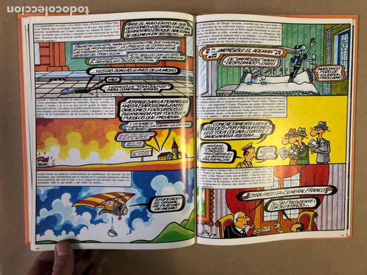 Cómics: HISTORIA FORGESPORÁNEA. FORGES. 3 TOMOS. ED. ZINCO PROCOMIC 1983. - Foto 25 - 235509725
