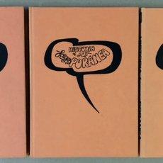 Cómics: HISTORIA FORGESPORÁNEA. FORGES. 3 TOMOS. ED. ZINCO PROCOMIC 1983.. Lote 235509725