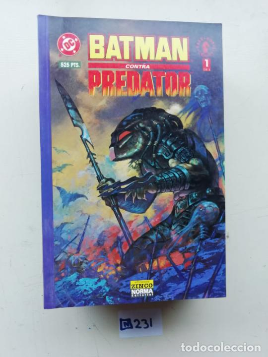 BATMAN CONTRA PREDATOR (Tebeos y Comics - Zinco - Batman)