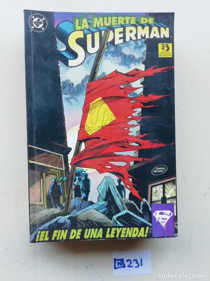 LA MUERTE DE SUPERMAN (Tebeos y Comics - Zinco - Superman)