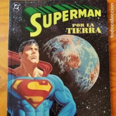 Cómics: SUPERMAN, TOMO PRESTIGE POR LA TIERRA - DC COMICS ZINCO.. Lote 235793950