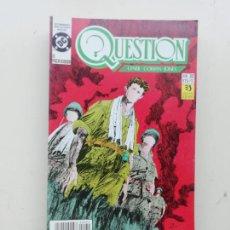 Cómics: QUESTION. Lote 235869260