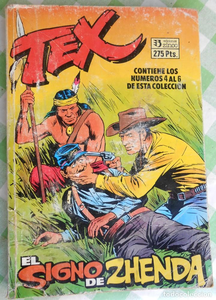 COMIC TEX EDICIONES ZINCO, CONTIENE LOS Nº. 4, 5 Y 6. DE 66 PAGS. CADA UNO. JABATO - COSACO VERDE (Tebeos y Comics - Zinco - Retapados)