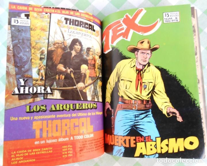 Cómics: Comic Tex Ediciones Zinco, Contiene los nº. 4, 5 y 6. de 66 pags. cada uno. Jabato - cosaco verde - Foto 3 - 235896225