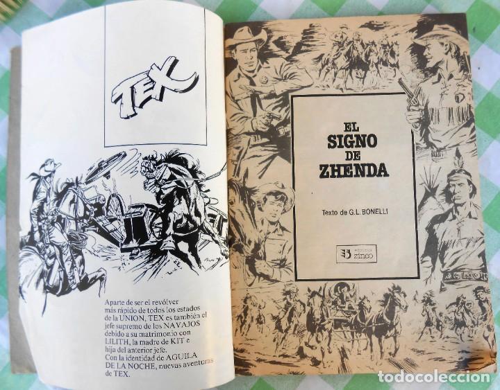 Cómics: Comic Tex Ediciones Zinco, Contiene los nº. 4, 5 y 6. de 66 pags. cada uno. Jabato - cosaco verde - Foto 4 - 235896225