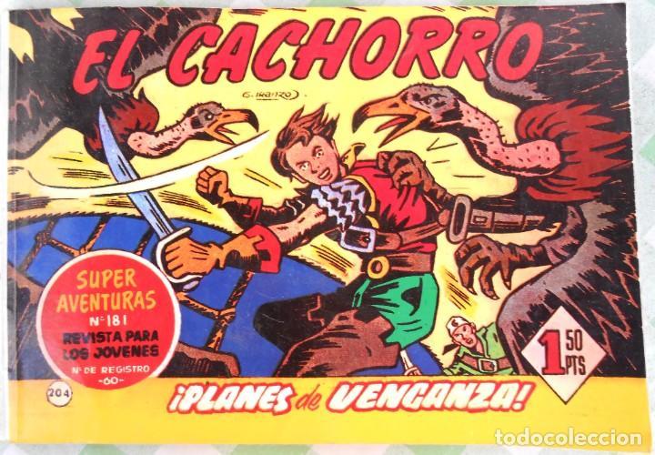 EL CACHORRO, TOMITO CONTENIENDO 8 TEBEOS. IBERCOMIC EDICIONES. - JABATO CAPITAN TRUENO - COSACO VERD (Tebeos y Comics - Zinco - Retapados)