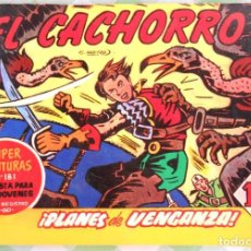 Cómics: EL CACHORRO, TOMITO CONTENIENDO 8 TEBEOS. IBERCOMIC EDICIONES. - JABATO CAPITAN TRUENO - COSACO VERD. Lote 235898310