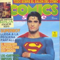 Cómics: COMICS SCENE Nº4. SUPERMAN, TORTUGAS NINJA, AKIRA, SIMPSONS, SUPERBOY, MAGNUS, ROCKETEER.... Lote 236021230