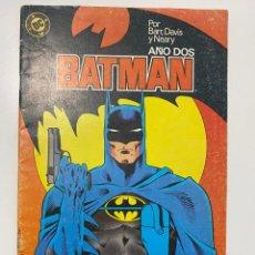 Comics: BATMAN. Nº 4 - POR BARR, DAVIS Y NEARY. AÑO DOS. DC. EDICIONES ZINCO. Lote 236234600