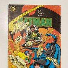 Comics: BATMAN. Nº 11 - POR BARR, DAVIS Y NEARY. DC. EDICIONES ZINCO. Lote 236234915